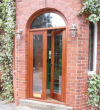 Hardwood arched casing and doors Leeds
